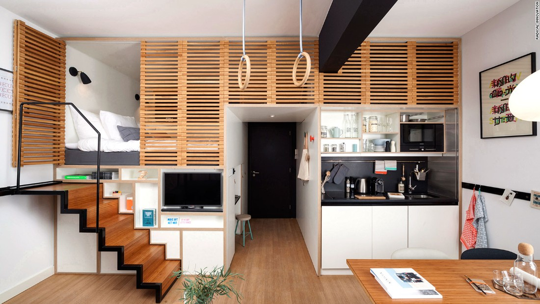 """Zoku is one of two finalists that was shortlisted for the 2015 Radical Innovation Award. Zoku, which is the word for family, tribe, or clan in Japanese, is a home-office hybrid. Hoping to lead the trend in the hospitality industry for hybridized live-work-play spaces, Zoku is targeted at millennials who are self-employed professionals, free movers, and creatives. It was designed by Dutch architecture firm <a href=""""http://www.concreteamsterdam.nl/"""" target=""""_blank"""">concrete</a> and the UK-based trend forecasting agency, <a href=""""http://thefuturelaboratory.com/us/"""" target=""""_blank"""">The Future Laboratory</a>."""