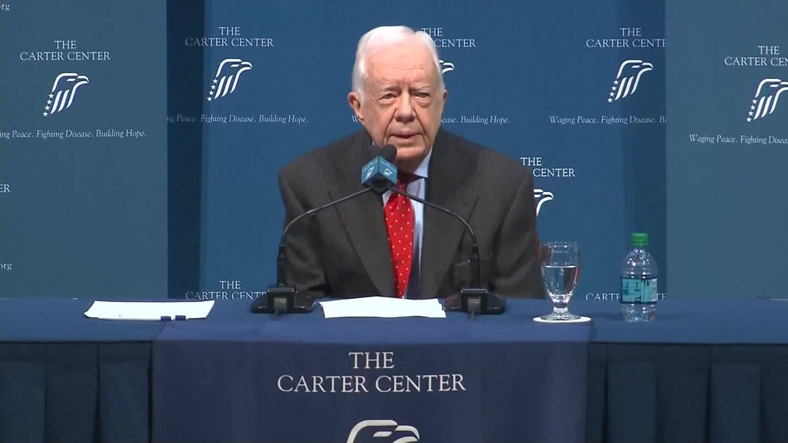 Jimmy Carter on cancer: Future in God's hands