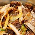korea spicy food galbijjim