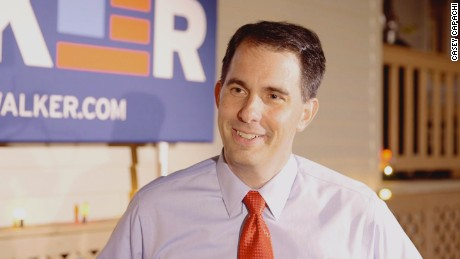 Scott Walker warms to New Hampshire