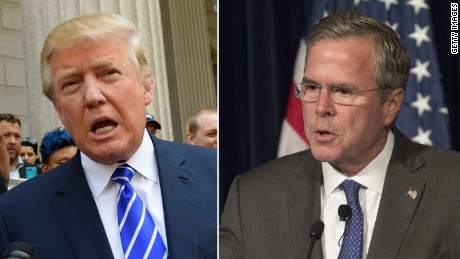Trump, Bush not apologizing for 'anchor babies'