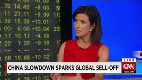 exp Michael O'Sullivan, Chief Investment Officer UK & EMEA, Credit Suisse, discusses the stock rout. _00002001