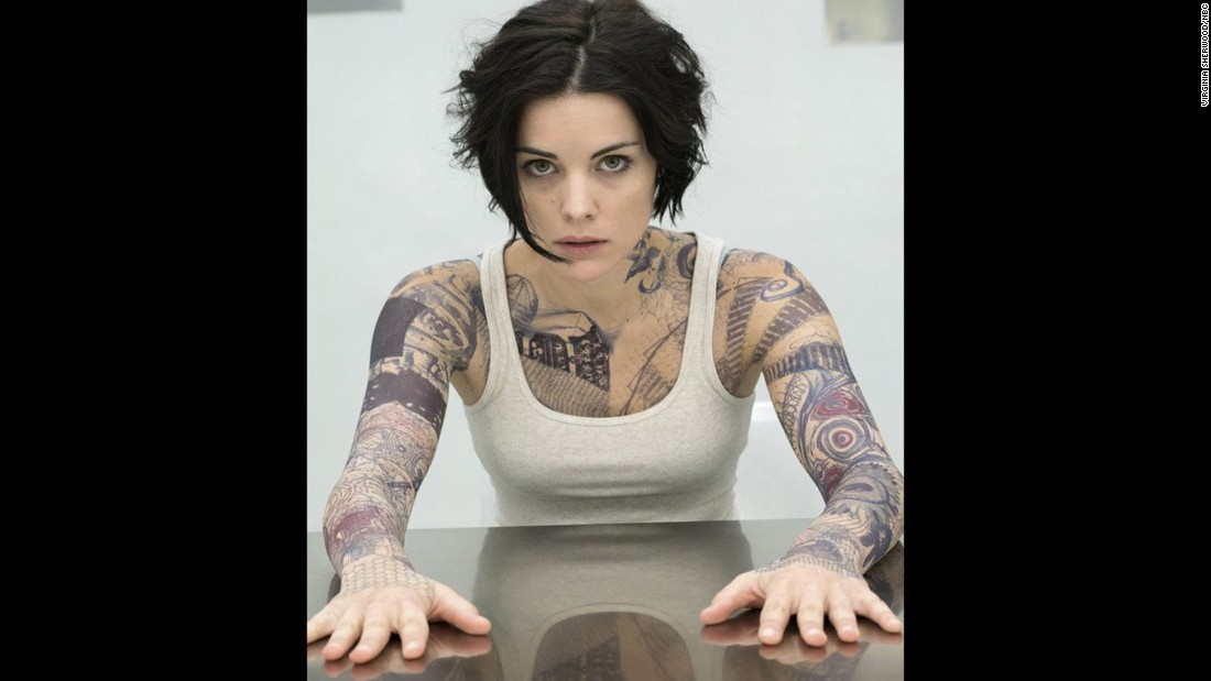 "Jaimie Alexander stars as a heavily-inked Jane Doe who has secrets in ""Blindspot."""