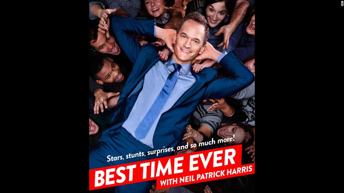 "Neil Patrick Harris has proven with his awards show gigs that he's the host with the most. He'll get to show that off on the variety show ""Best Time Ever with Neil Patrick Harris."""
