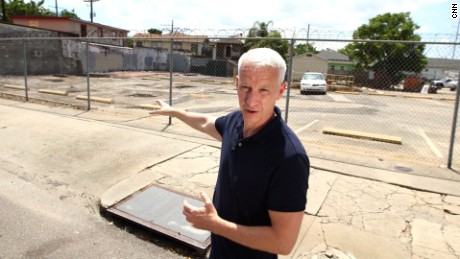 Anderson Cooper returns to New Orleans 10 years later