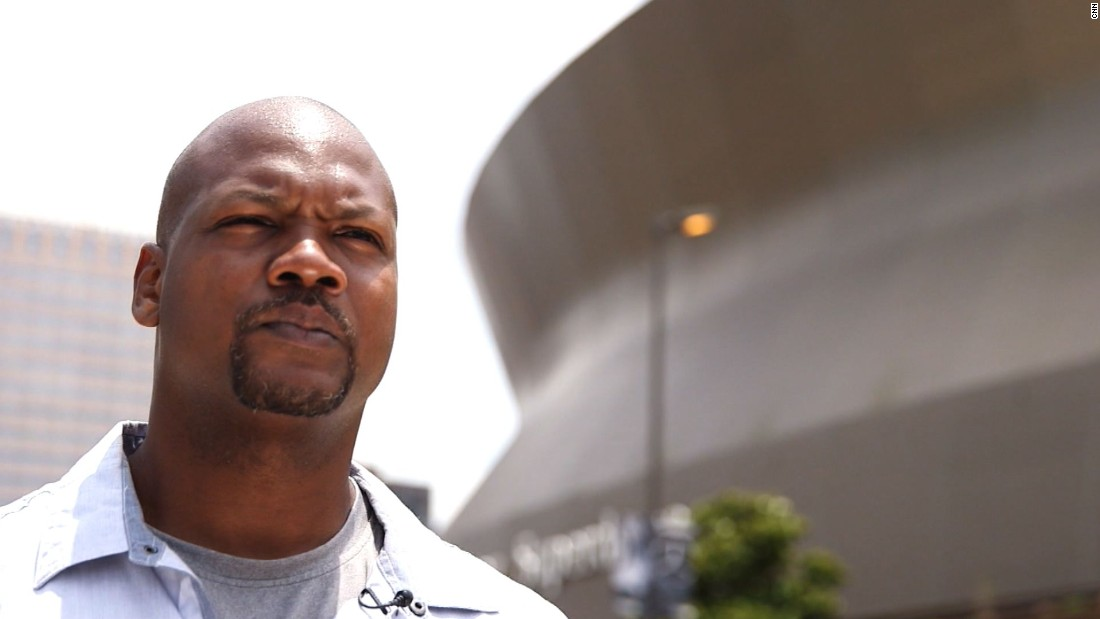 "Alexander in 2015 reflects on his experiences riding out the storm in the Superdome. He is now a poet and still lives in St. Bernard Parish. He is nicknamed ""Shakespear""-- without the ""e."""