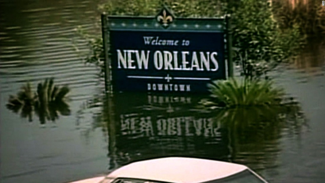 In 2005, approximately 80% of New Orleans was under water after the levees breached.