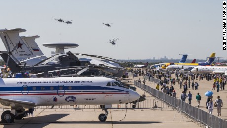 Russia MAKS-2015 International Aviation and Space Show