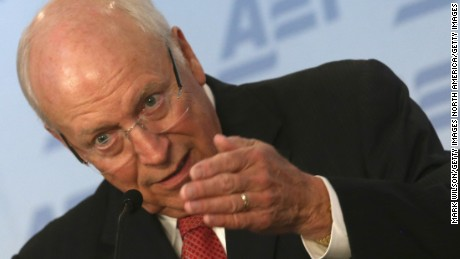 Former U.S. Vice President Dick Cheney speaks about the situation in Syria and Iraq regarding the terrorist group ISIS, at The American Enterprise Institute for Public Policy Research (AEI), September 10, 2014 in Washington, D.C.