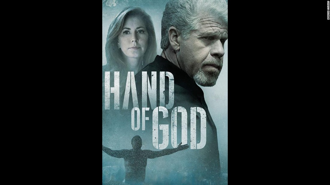"Ron Perlman and Dana Delany star in the new Amazon series ""Hand of God"" about a corrupt judge who has a transformative experience."