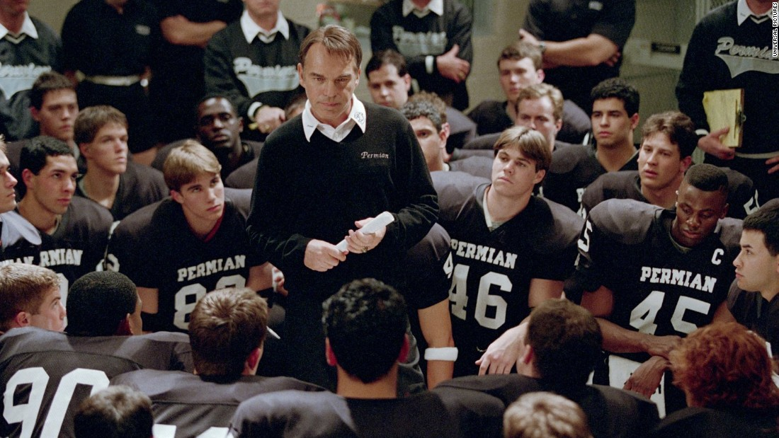 "The 2004 film ""Friday Night Lights"" follows a team of Texas high school football heroes. Based on a book by Buzz Bissinger, it spawned a critically praised TV series."