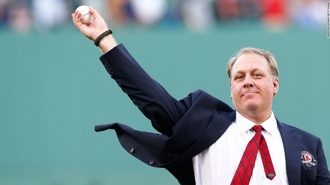 """<a href=""""http://www.cnn.com/2015/08/25/us/curt-schilling-insensitive-tweet/index.html"""">ESPN analyst and former MLB pitching star Curt Schilling</a> re-posted a tweet comparing Muslims and Nazis. He later apologized and was suspended by the sports network."""