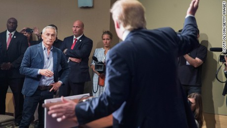 Donald Trump vs. Univision's Jorge Ramos