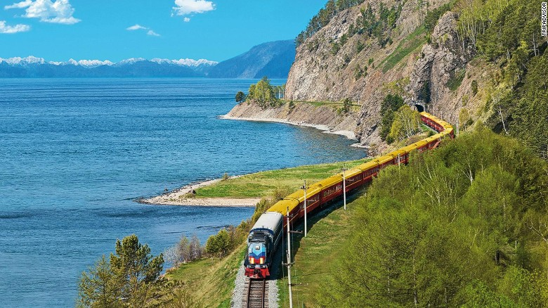 TripAdvisor has compiled a new list of 10 trips of a lifetime. Bring on the vodka -- you're going to need it if you plan to see the epic train journey in the number 10 slot though to completion. The Trans-Siberian Railway chugs its way across Russia over 9,300 kilometers (5,780 miles) of track, connecting Moscow to the far eastern port town of Vladivostok.