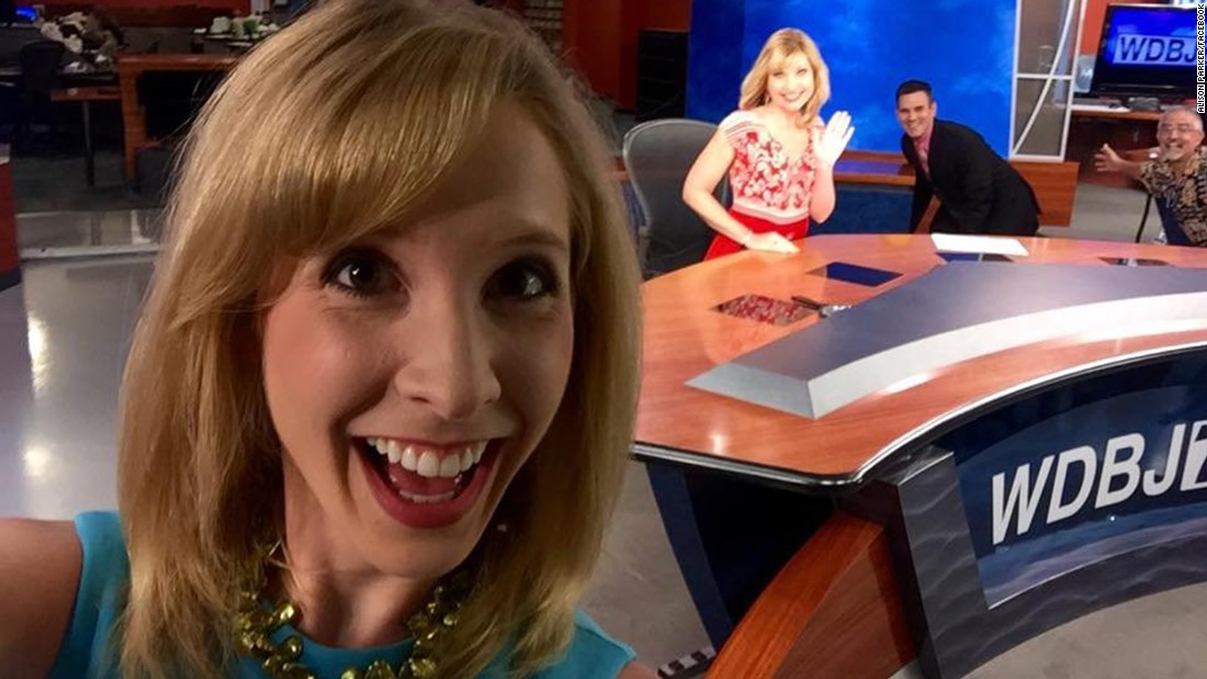 "Alison Parker often reported on the area chamber of commerce -- as she was doing the day she died -- with a knack for finding the human stories in business news. ""She cared about her stories and she took a genuine interest in what people said,"" freelance colleague Becky Blanton said. ""She would look for personal details and ask the questions others didn't ask.""<br />"