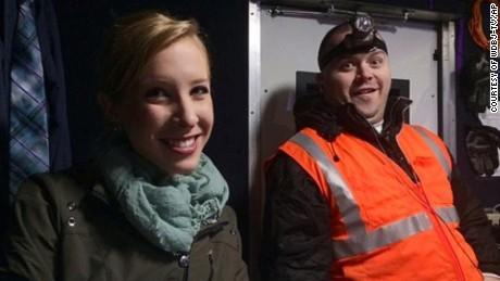 This undated photograph made available by WDBJ-TV shows reporter Alison Parker, left, and cameraman Adam Ward. Parker and Ward were fatally shot during an on-air interview, Wednesday, Aug. 26, 2015, in Moneta, Va. Authorities identified the suspect as fellow journalist Vester Lee Flanagan II, who appeared on WDBJ-TV as Bryce Williams. Flanagan was fired from the station earlier this year. (Courtesy of WDBJ-TV via AP) MANDATORY CREDIT