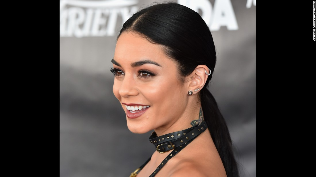 "Vanessa Hudgens has appeared in more adult projects such as ""Spring Breakers"" and ""Machete Kills."""