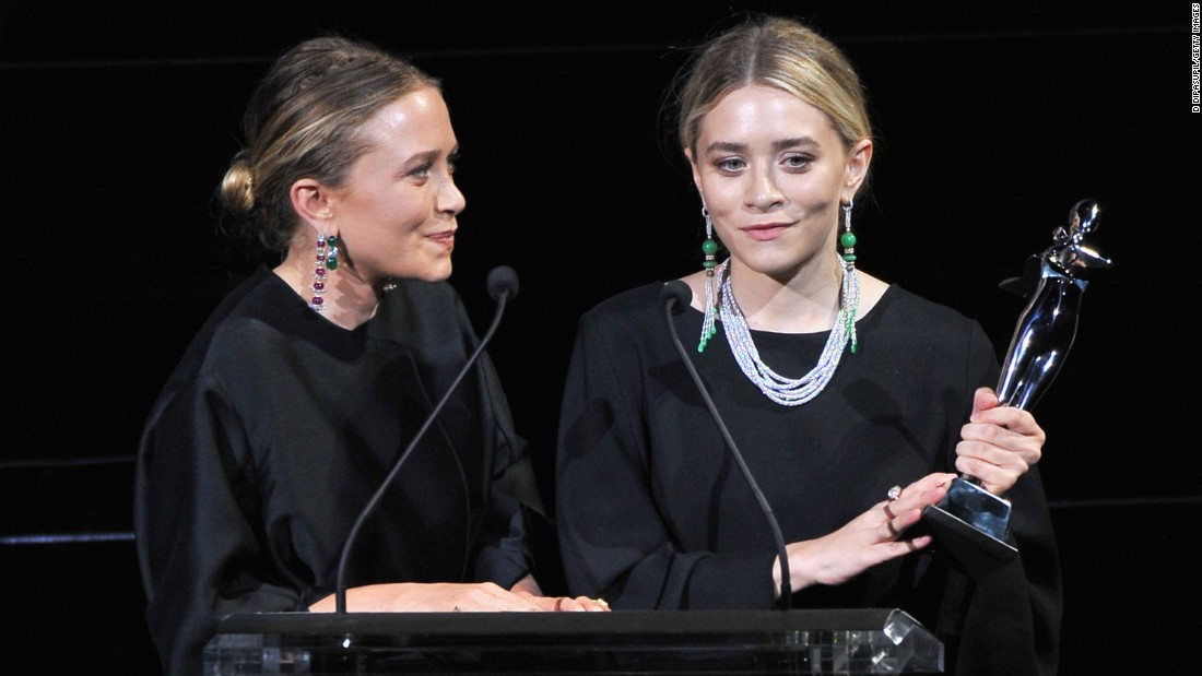 Designers Mary-Kate Olsen, left, and Ashley Olsen are a force to be reckoned with in the fashion world.