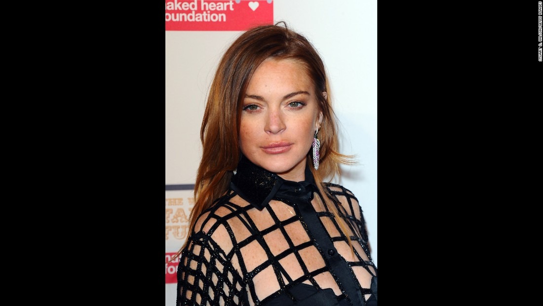 Nowadays, Lindsay Lohan is known more for troubles than for her career.