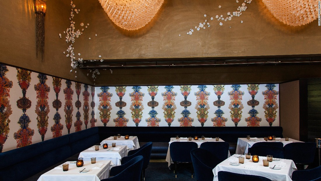 On Melrose Avenue, Providence occupies the former space of two legendary L.A. restaurants: Le St. Germain (1970-1988) and Joachim Splichal's flagship restaurant Patina, now re-situated at downtown's Walt Disney Concert Hall.