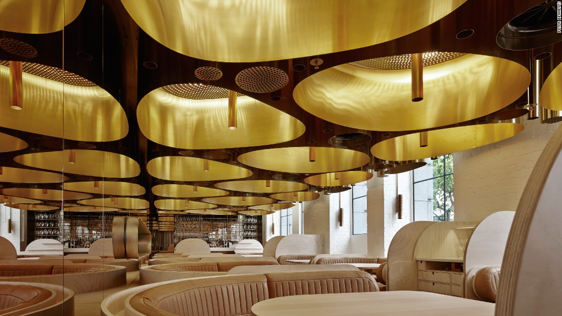 The most beautiful restaurants in the world have been for Restaurant design