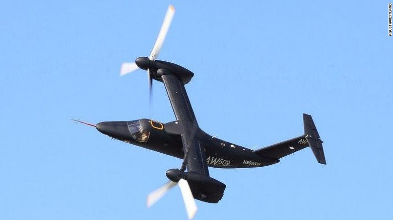 AgustaWestland's AW609 VTOL airplane could get FAA certification as soon as 2017.