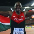 julius yego kenya flag