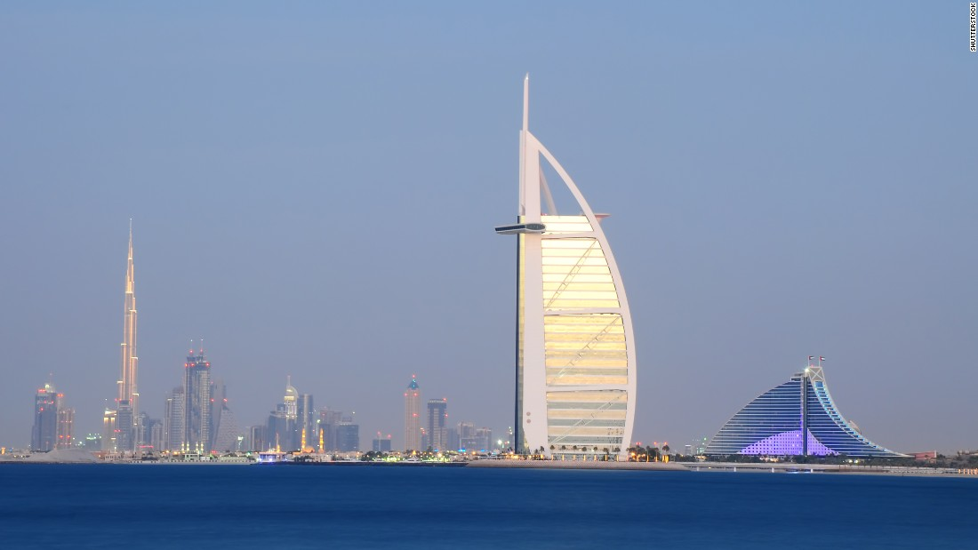 Do you know your skylines for Sail shaped hotel dubai