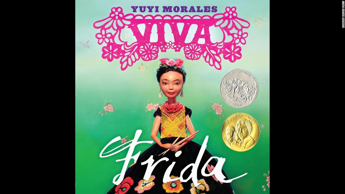 """""""Viva Frida,"""" <a href=""""http://www.cnn.com/2015/02/02/living/feat-newbery-caldecott-youth-media-awards-2015/index.html"""">written and illustrated by Yuyi Morales</a>, was an honor book, or runner-up, for the prestigious Randolph Caldecott Medal for the most distinguished picture book for children. Morales's book also won a Pura Belpre Award, which is designated for a Latino writer and illustrator whose children's books best portray, affirm and celebrate the Latino cultural experience."""
