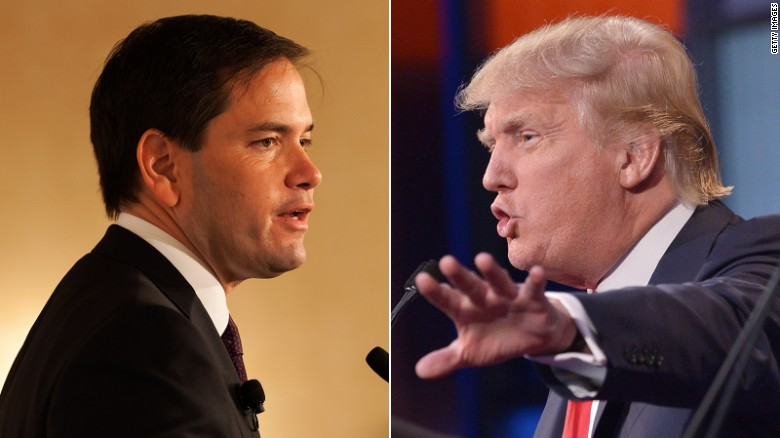 Aide: Trump 'doesn't think about Marco Rubio'