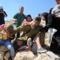 06 Israeli soldier Palestinian boy