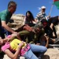 08 Israeli soldier Palestinian boy - RESTRICTED
