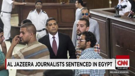 exp RS 08 30 Al Jazeera journalists sentenced in Egypt    _00001009.jpg
