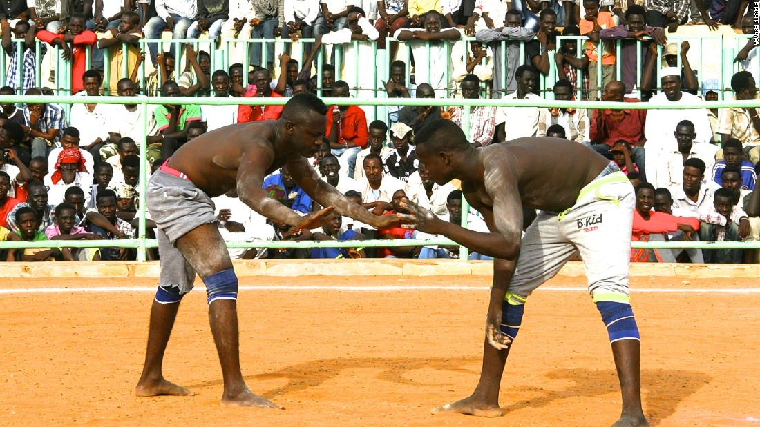 Sudan S Nuba Wrestlers Shoot For Olympic Glory Cnn Com