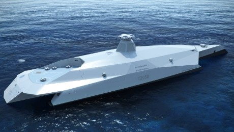 British defense industry comes up with vision for its warship for 2050