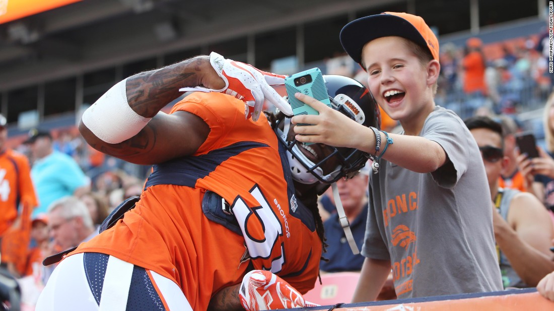 Denver Broncos Sports Selfie Stick