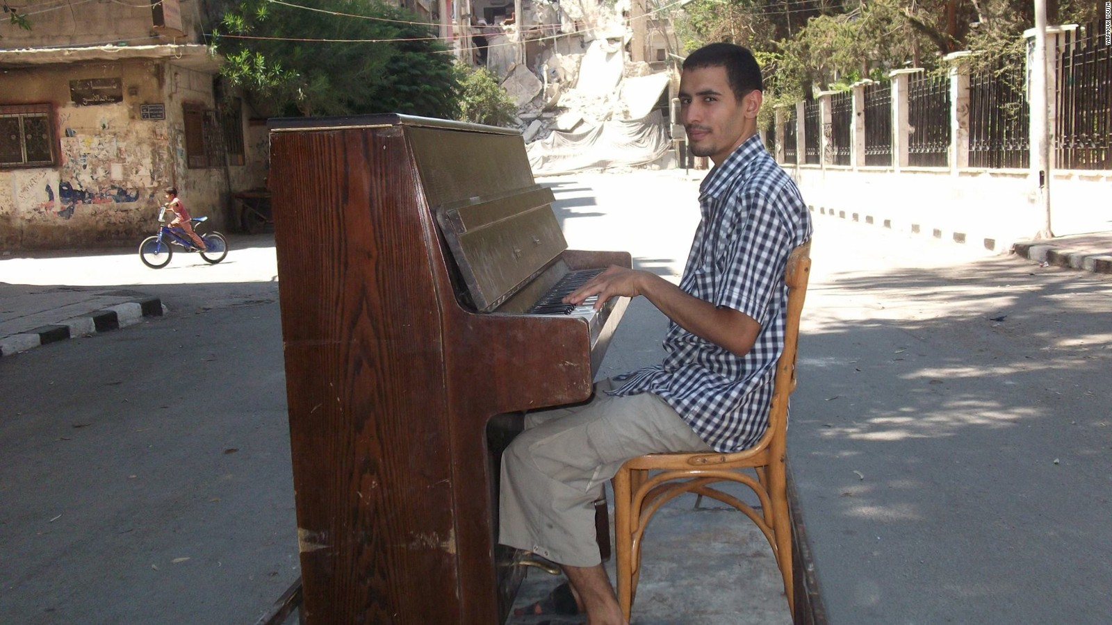ISIS tried to silence him, but pianist won't stay quiet