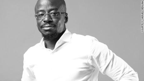 Samuel Mensah -- founder of Kisua.com