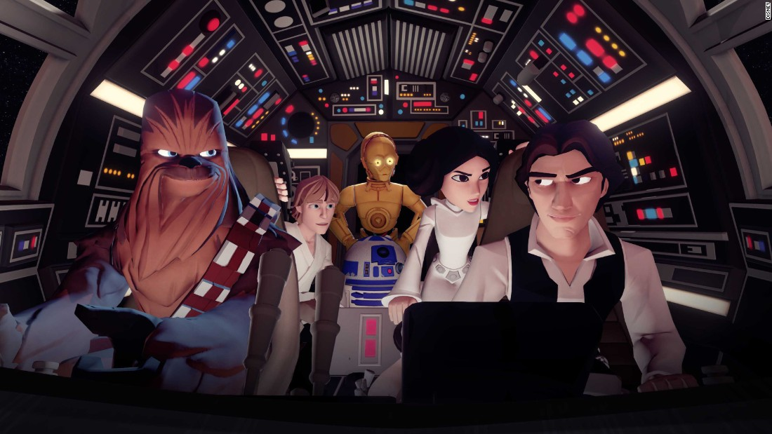 "Force Friday marks the unveiling of many new ""Star Wars"" products, in addition to the merch already available in anticipation of the December release of ""Star Wars: The Force Awakens."" ""Disney Infinity 3.0,"" the massive game with Disney characters, just added ""Star Wars"" characters, making it that much cooler."