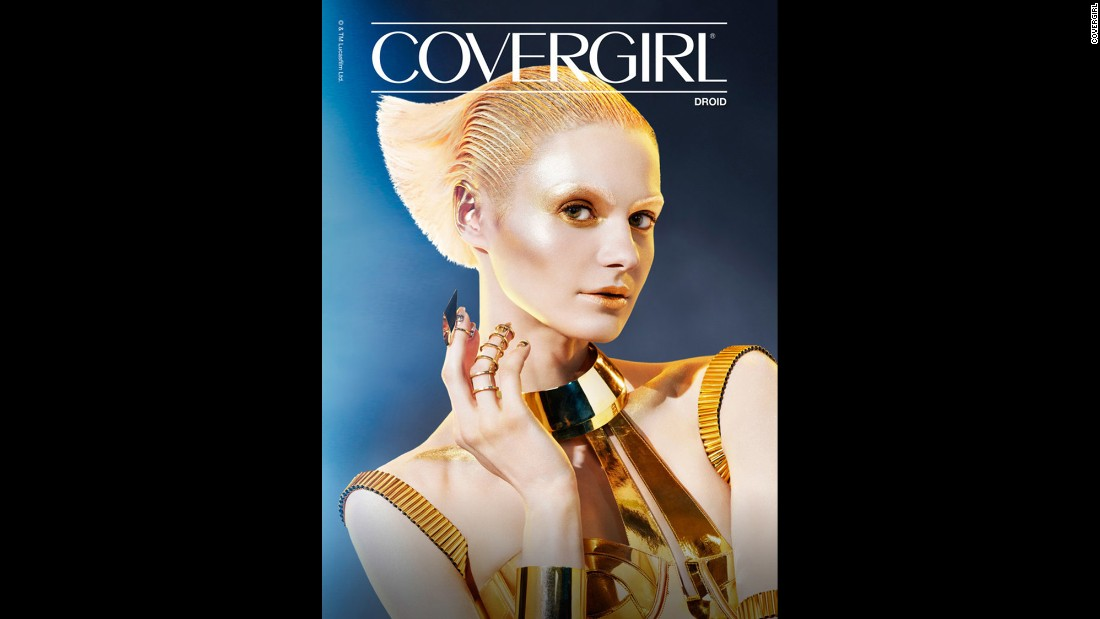 "You can compete for the ""most glamorous woman in the galaxy"" crown with new ""Star Wars"" Cover Girl cosmetics."