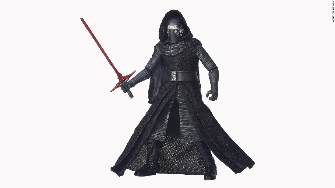 The villainous Kylo Ren will be a highly sought-after action figure on Force Friday.