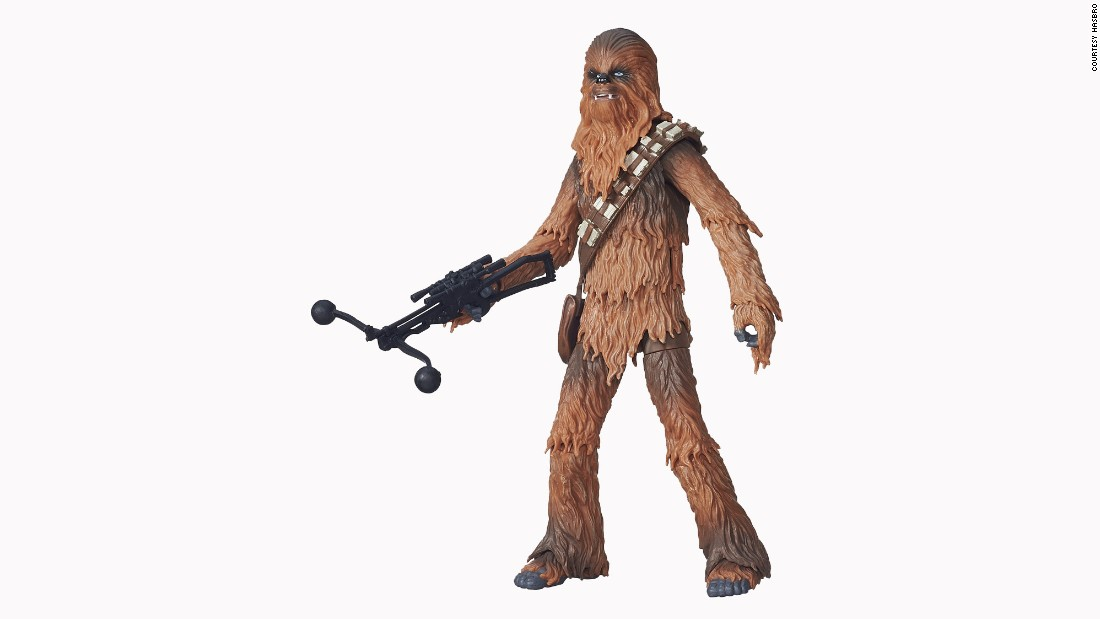 Chewbacca is back to represent the Wookiees.