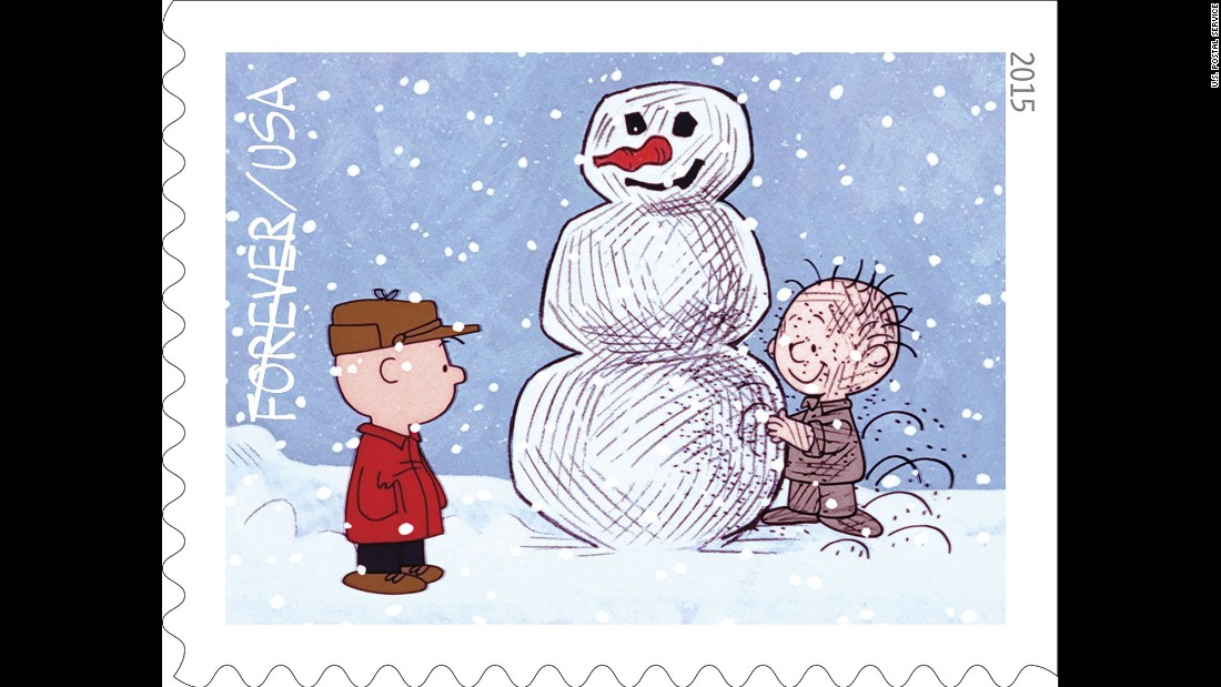 Holiday cheer a charlie brown christmas stamps go on sale