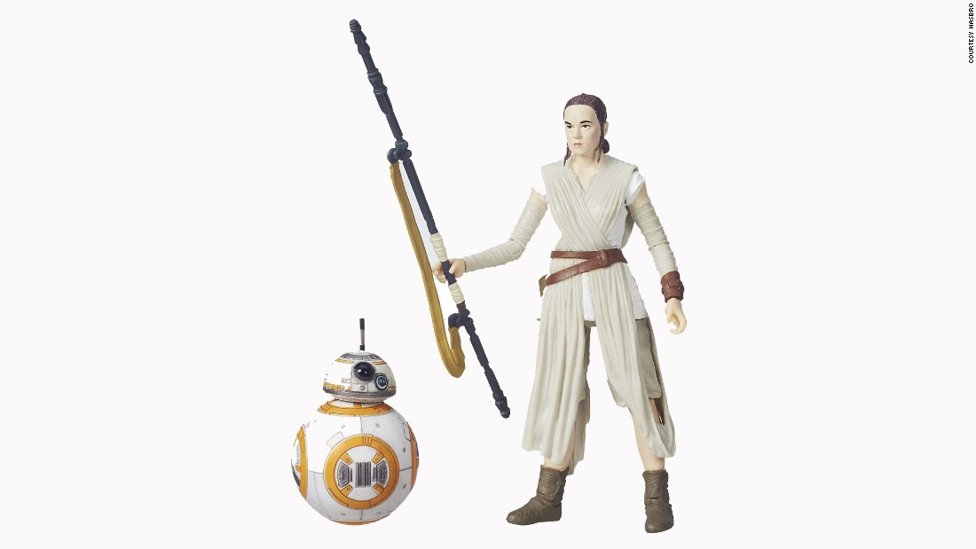 Fans will be just as excited to collect droid BB-8 as they will Rey.