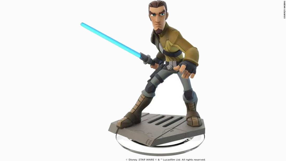 A new Disney Interactive figure of Kanan Jarrus is being introduced for Force Friday.