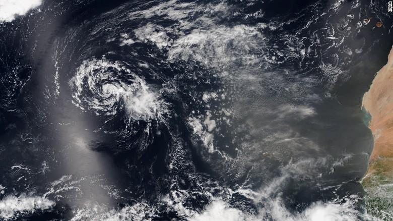 Tropical Storm Grace forms in far eastern Atlantic