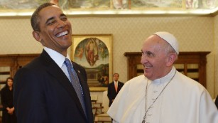 Critics of Pope Francis have borrowed from the playbook of President Obama's critics.