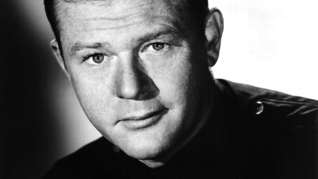 """Martin Milner, co-star of the hit 1970's TV show """"Adam 12,"""" in a promotional shot from the third season opener in 1970 in Los Angeles, California."""