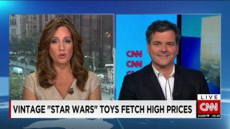 exp Peter Jenkinson, toyologist, discusses 'Force Friday' and new Star Wars toys in great demand  _00002001