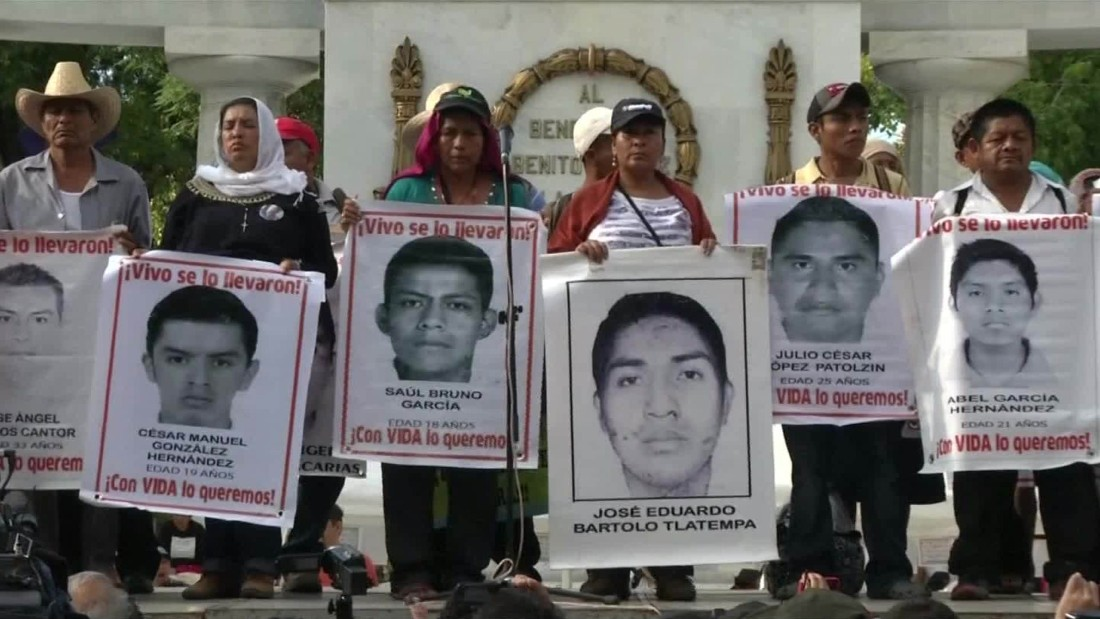 Mexican Police Chief Arrested In Connection With Missing Students
